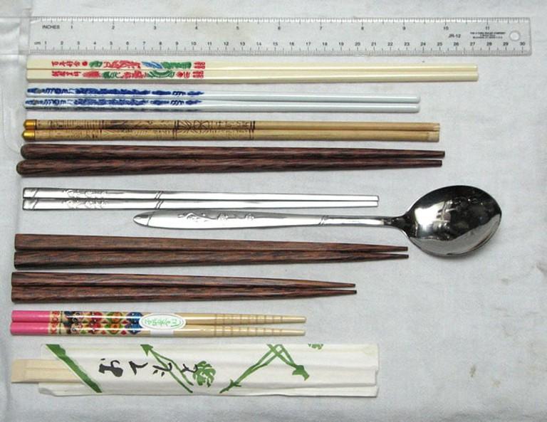 Chopsticks from around Asia