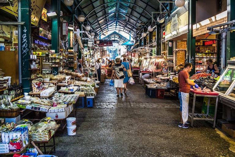Inside Modiano Market