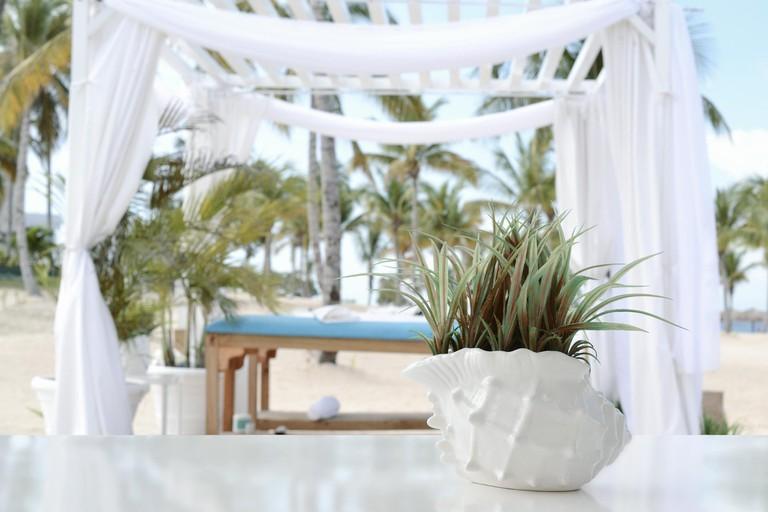 Indulge in a beach massage