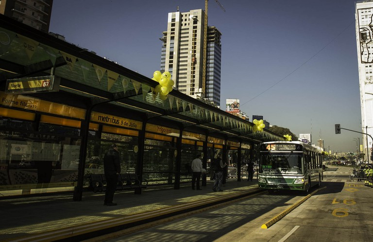 Buenos Aires' new Metrobus