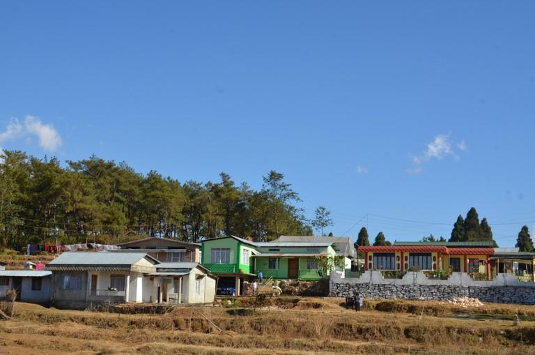 Mawphlang village