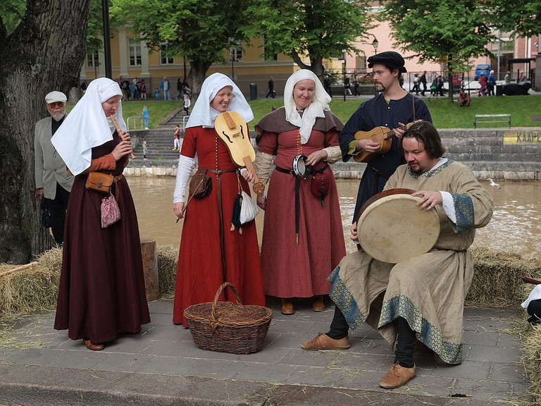 Musicians at the Medieval Market