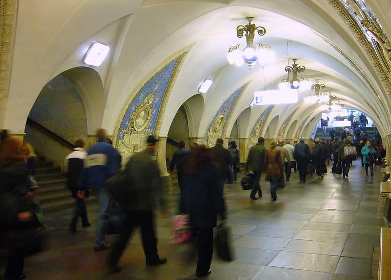 Moscow Metro architecture   © yeowatzup/Flickr