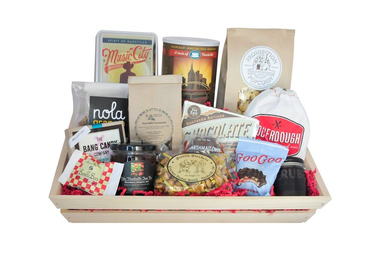 gift basket from High Note Gifts