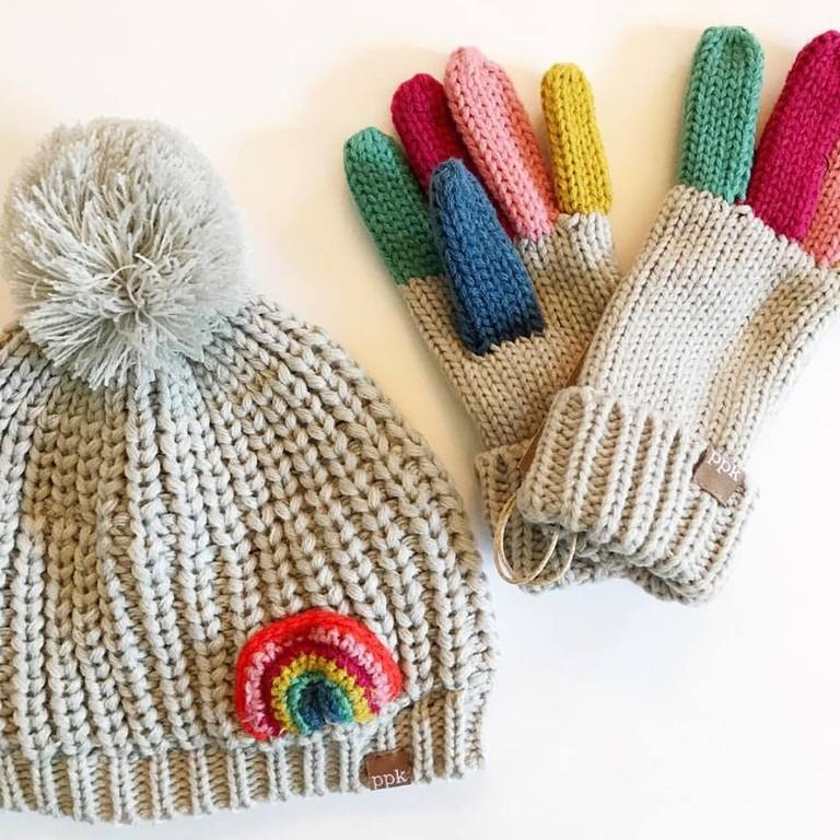winter kids accessories from Sugar Bit