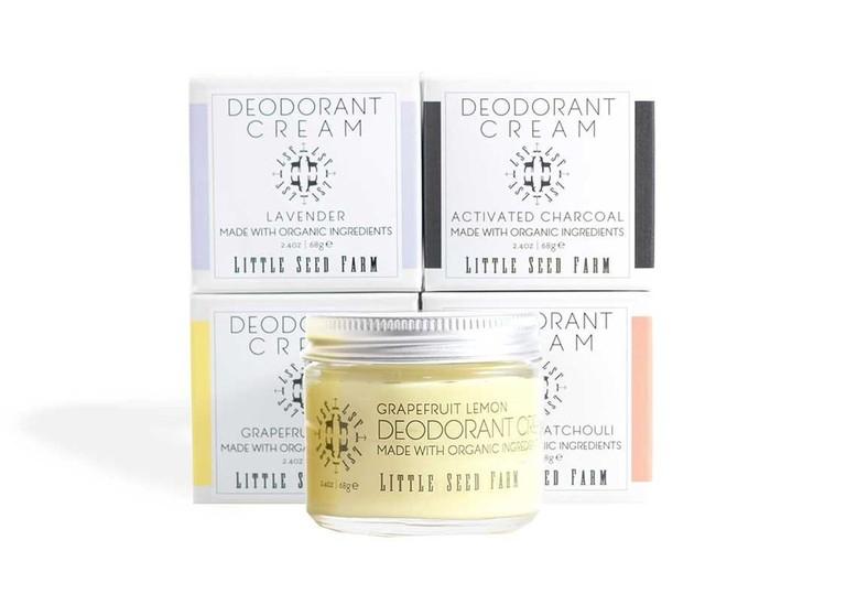 deodorant cream from Little Seed Farm