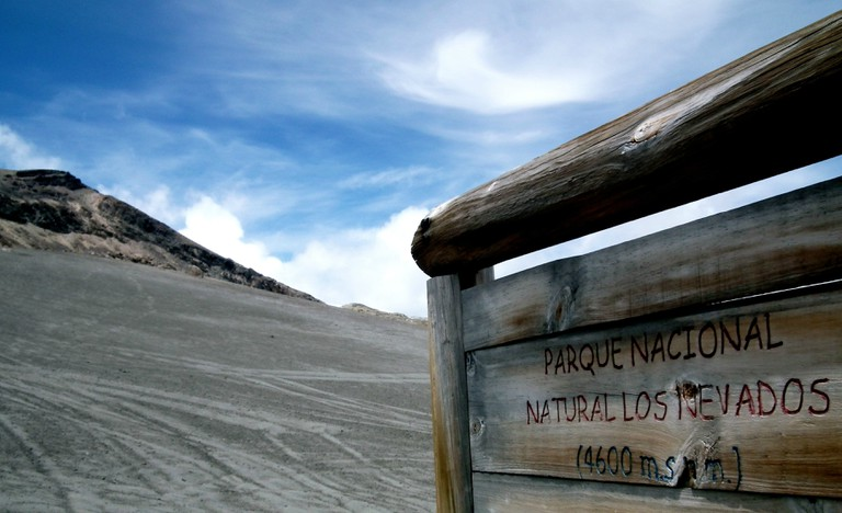 Welcome to Los Nevados National Park