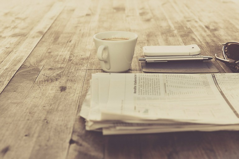 Read a newspaper
