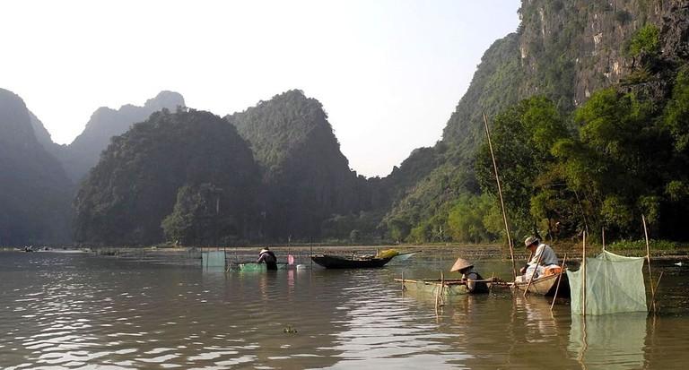 Ninh Binh's limestone hills | © Franzfoto/WikiCommons