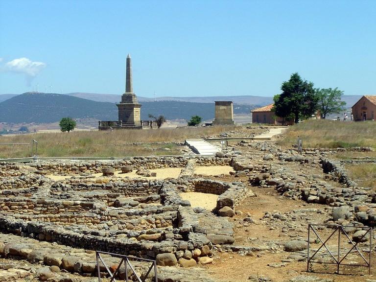 Numancia, Soria | ©Wamba Wambez / Wikimedia Commons