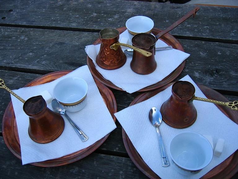 Original Turkish Coffee in Bosnia Herzegovina | © Raffaello/WikiCommons