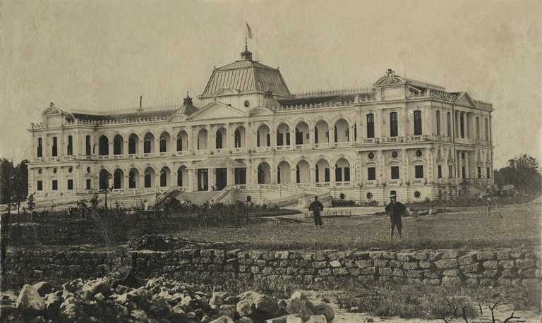 French Governor's Palace in Saigon (1875) | Original photo by Emile Gsell via Tommy Truong79/Flickr