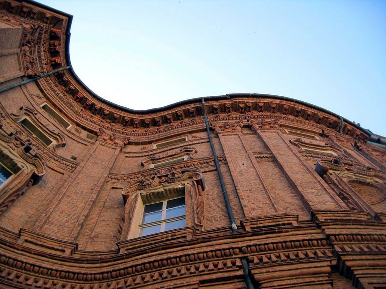 The curves of Palazzo Carignano