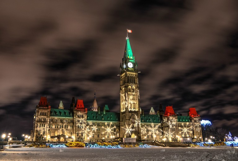 Parliament Hill Ottawa Tourism Neil Robertson