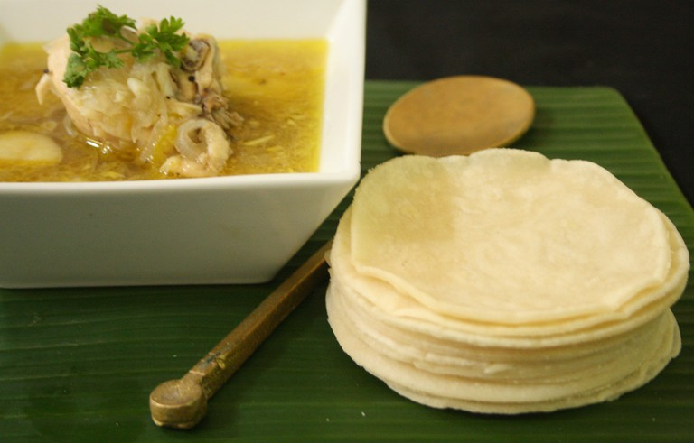 Pathiris may be kept soaked in coconut milk to retain moisture and flavour