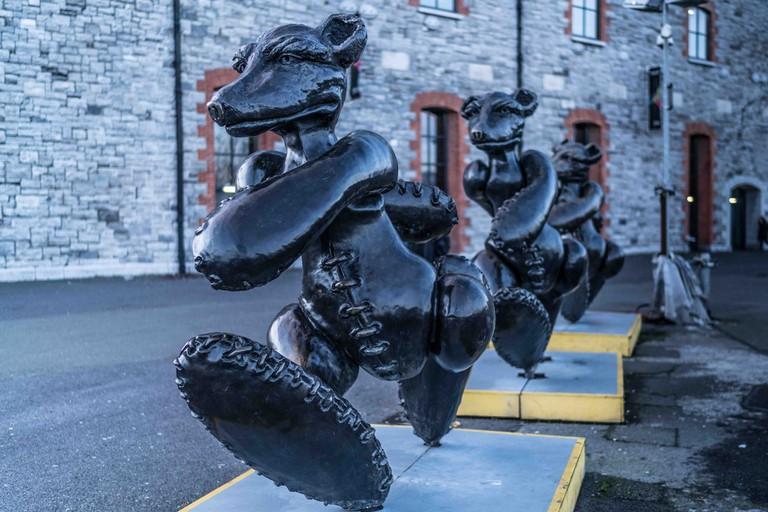 Patrick O'Reilly sculpture