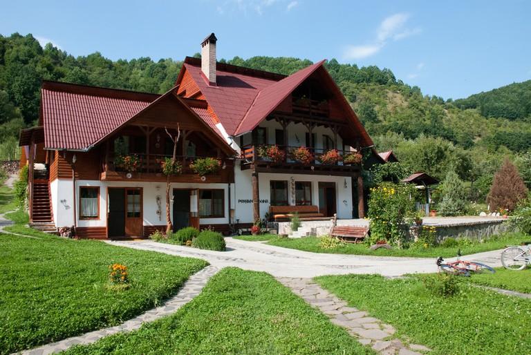 Guesthouse in Maramures region, Romania