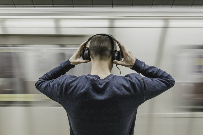 Listening to podcasts is a great way to improve your language skills