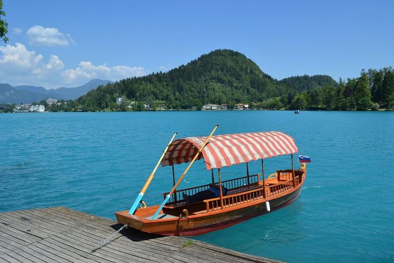 The Pletna Boat