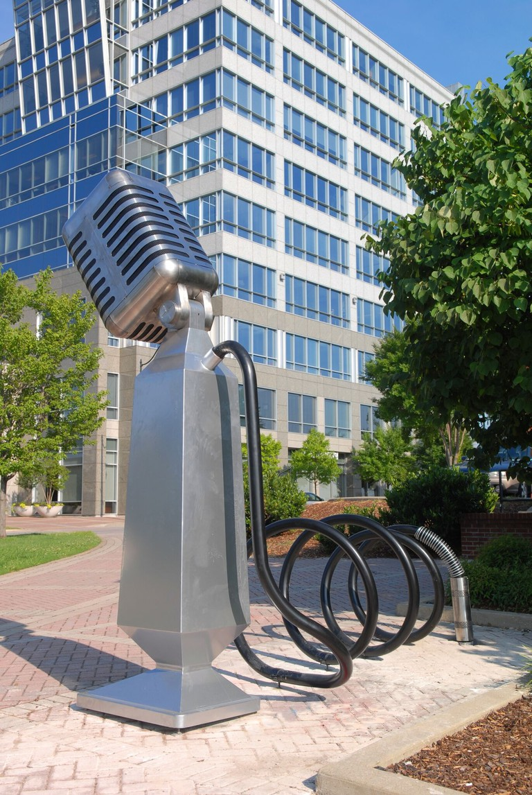 Microphone by Franne Lee, Keith Harmon & Mac Hill