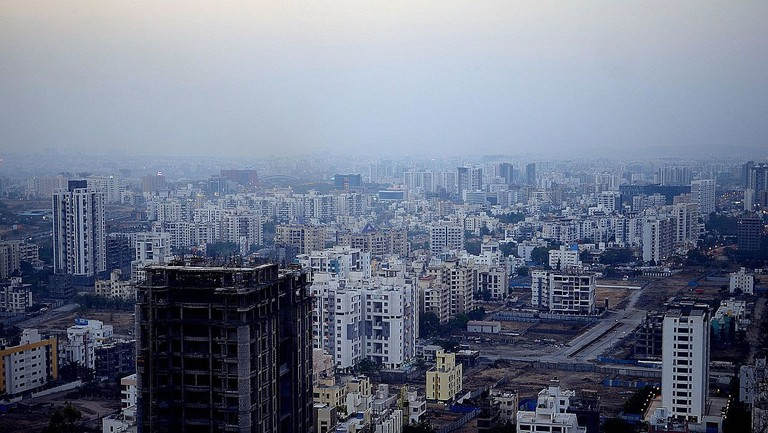 Pune_West_skyline_-_March_2017