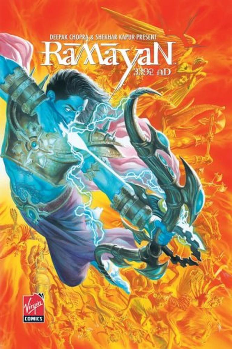 This graphic novel adapts an Indian Hindu mythological story