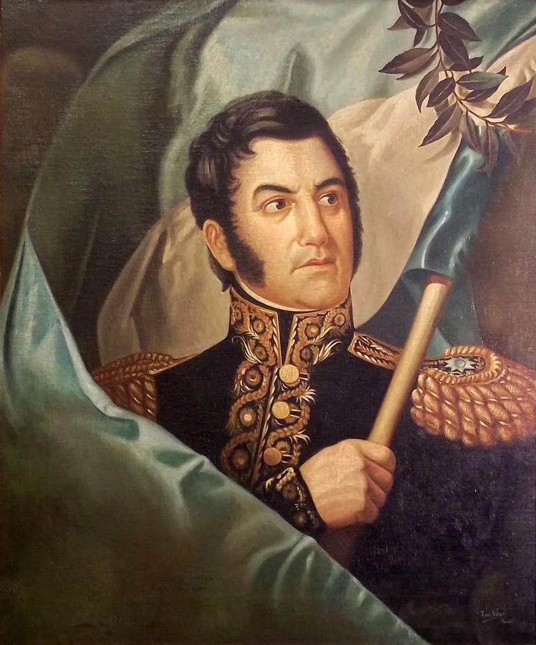 Retrato_más_canónico_de_José_de_San_Martín