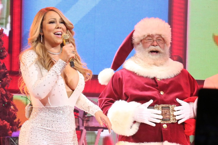 'All I Want for Christmas Is You' concert, New York, USA