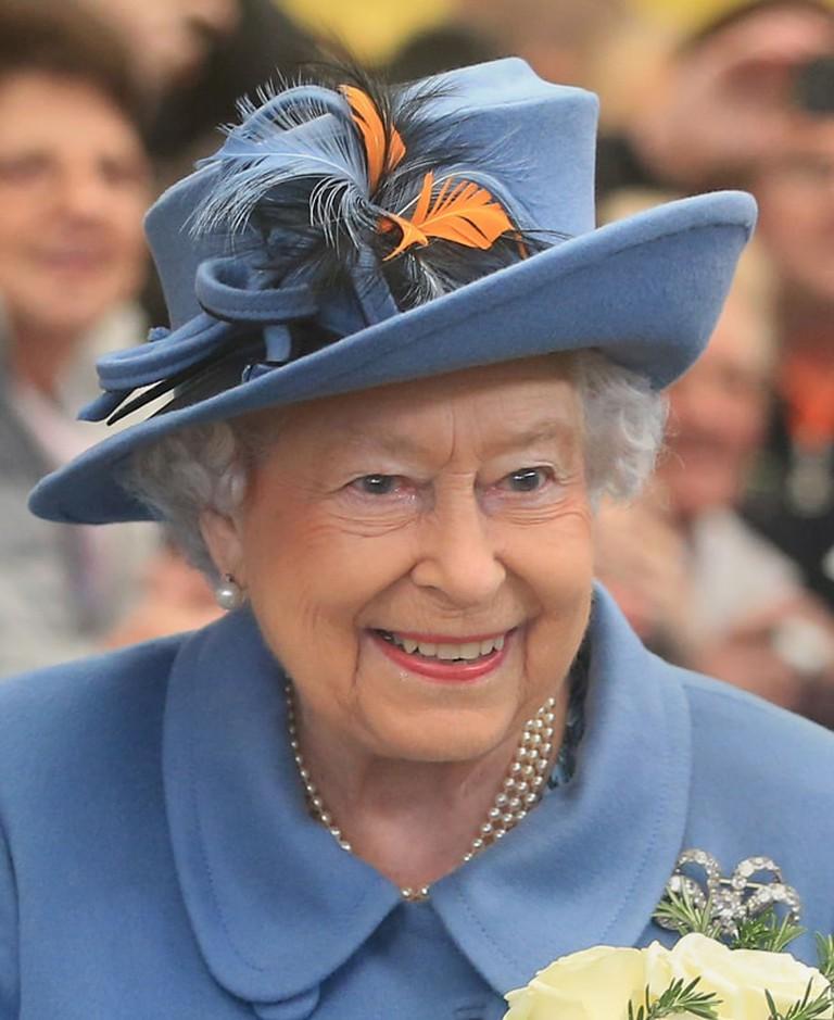 Queen Elizabeth II visit to Hull, UK - 16 Nov 2017