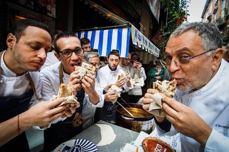 Art of Neapolitan pizza wins UNESCO status, Naples, Italy - 07 Dec 2017