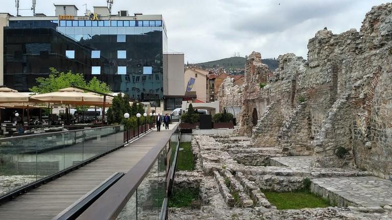 Old ruins and Modern buildings in Sarajevo | © Sam Bedford