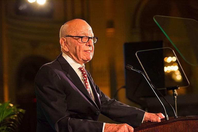 Rupert Murdoch   © Hudson Institute_Wikimedia Commons