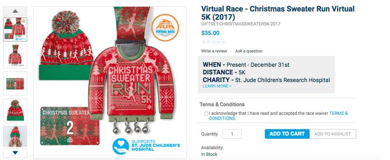 Christmas Sweater Run Virtual 5K