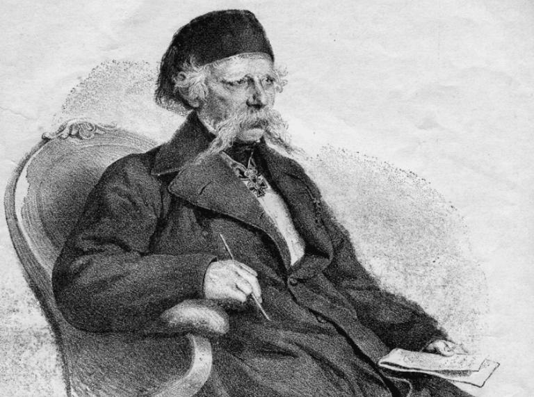 Vuk Karadžić, the one legged mind behind Serbian Cyrillic