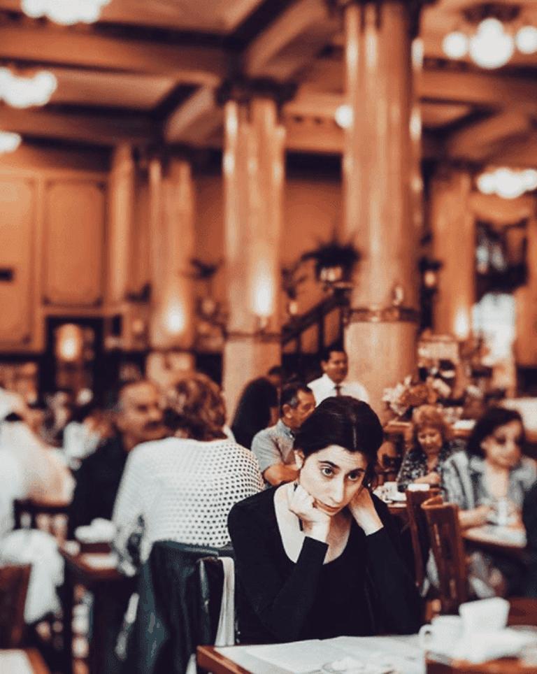 Las Violetas, a famous café in Buenos Aires