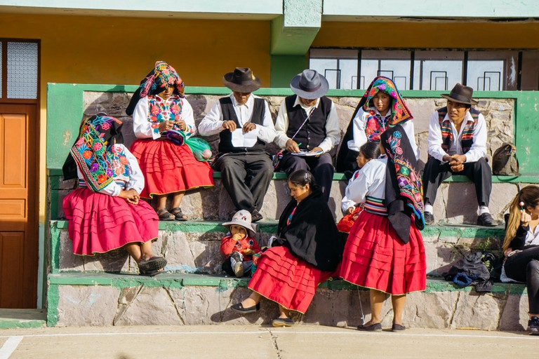 A look at the people on Taquile Island
