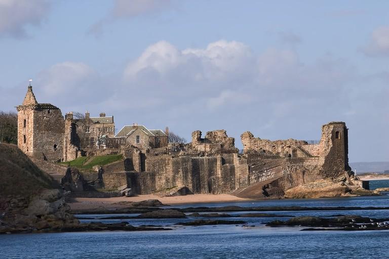 Saint Andrews Castle, Fife, Scotland