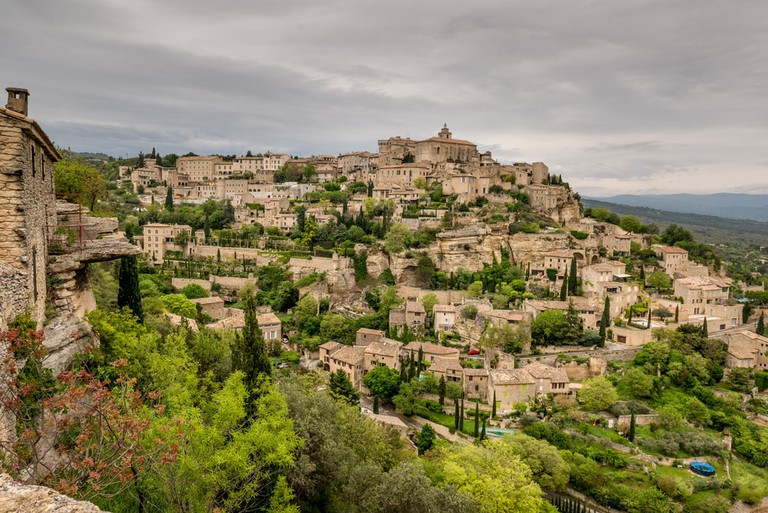 The hilltop town of Gordes