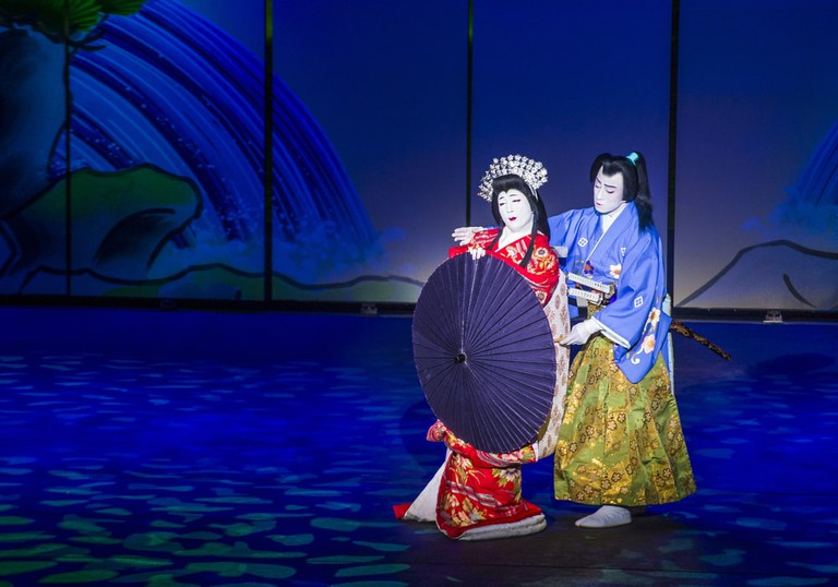 Kabuki is Japan's most iconic form of traditional theater