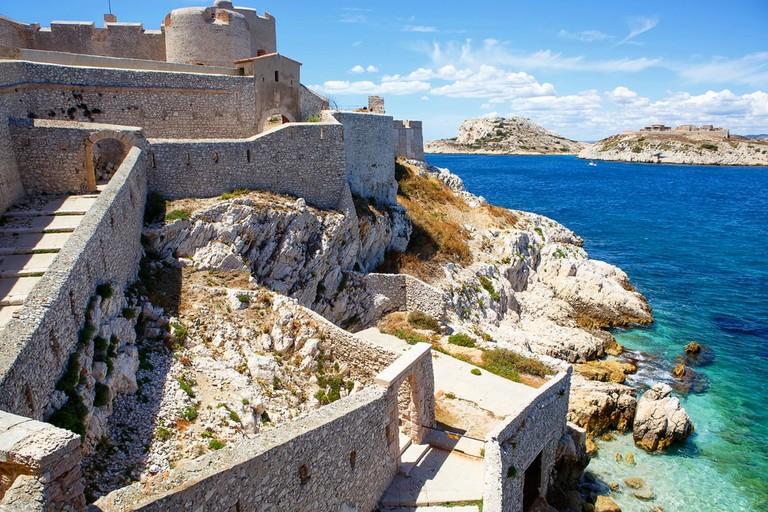 Château d'If off the coast of Marseille