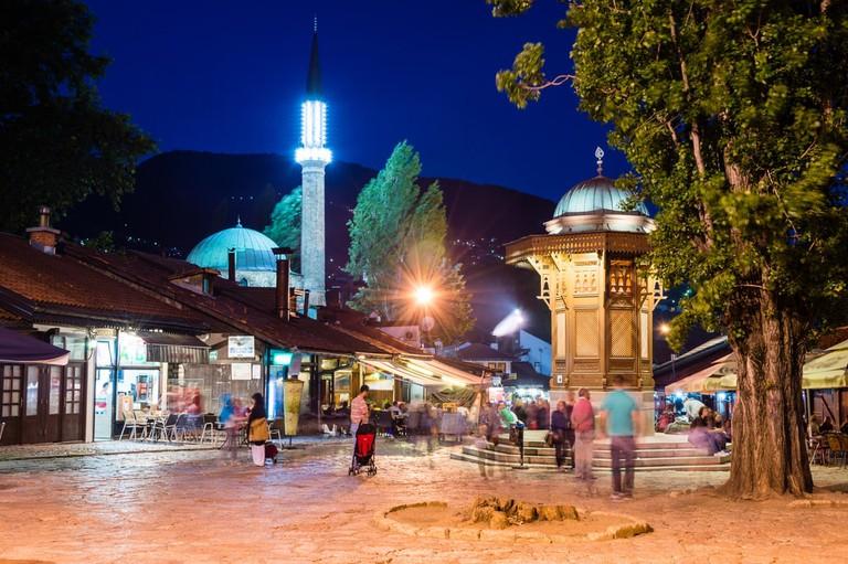 Sarajevo has many fountains like Sebilj | © Andrii Lutsyk/Shutterstock
