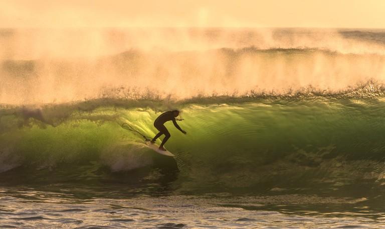 Surf in La Herradura, Lima, Peru