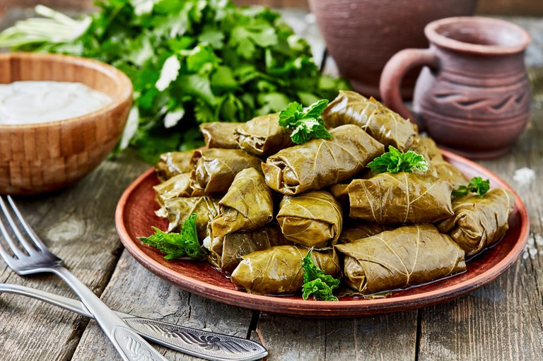 Stuffed grape leaves | © comeirrez/Shutterstock