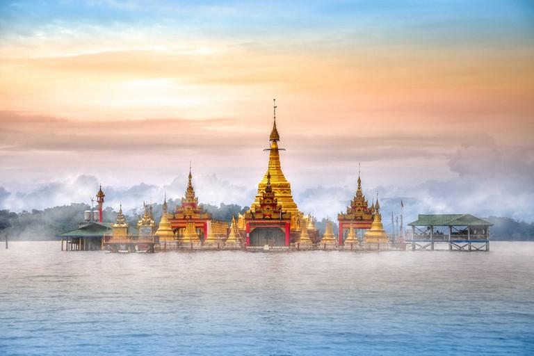 Shwe-Myitzu-Floating-Pagoda-in-Kachin-State-Myanmar
