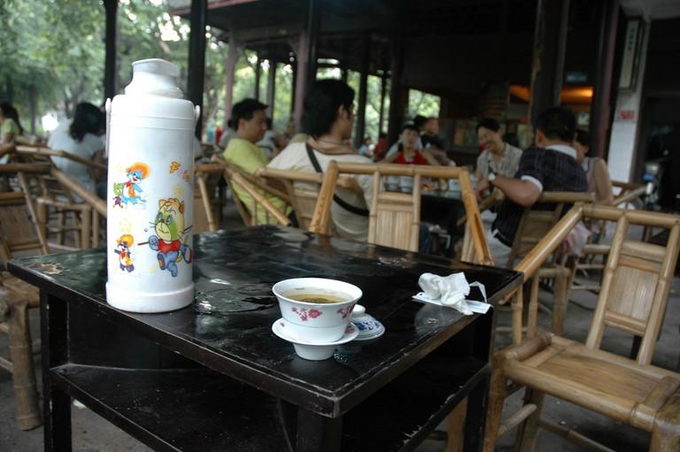 Sichuanese tea house
