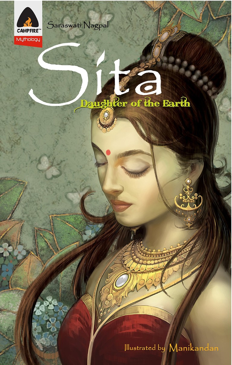 The graphic novel is based on a mythological character called Sita