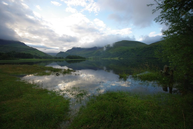 Nantlle Lake in Snowdonia