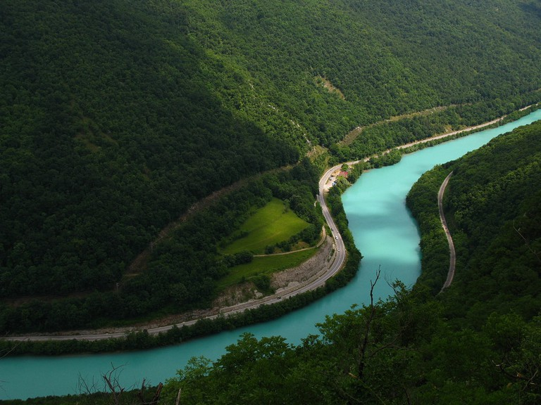 The Soča River