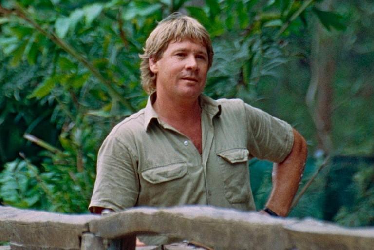 Steve Irwin   © Bernard Dupont:Wikimedia Commons