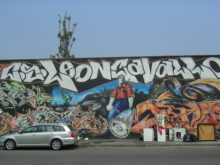 A mural in Leoncavallo, Milan | © F. // Chicca // K. Silva/Flickr